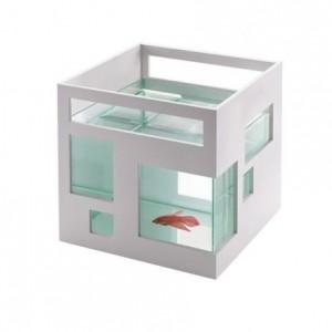 Pecera hotel para peces Fishhotel de Umbra