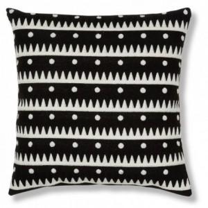 NEWARK cojín desenfundable algodón 100% con dibujo bordado