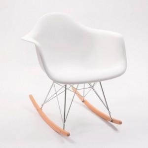 Sillón mecedora TOWER ARMS inspirada en la silla balancín de Charles & Ray Eames