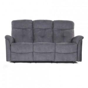 Sofá de 3 plazas NAPOLEÓN con sistema relax manual de 188 cm