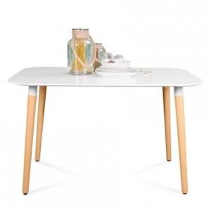 Mesa de comedor de diseño nórdico NORDIK 130x80 cm