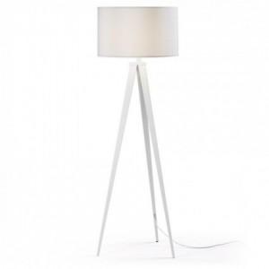 Lámpara de pie trípode IGUAZU blanco