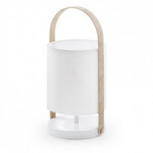 Lámpara de mesa ZAYMA blanco