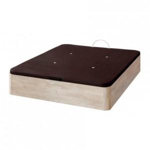 Canapé arcón de gran capacidad con tapa abatible tapizada