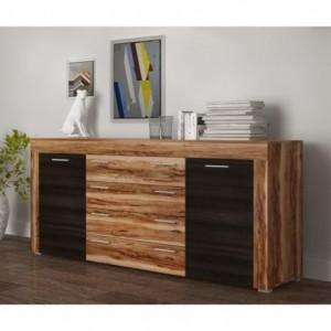 Mueble aparador de comedor MALLORCA color manzano y pino larico 177x40 cm
