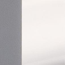 METAL GRIS-PVC BLANCO